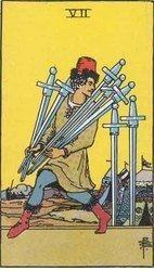 Ana Tarot: Siete de Espadas