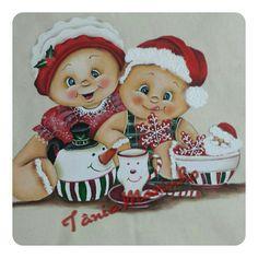Christmas Tea, Christmas Clipart, Christmas Makes, Christmas Printables, Christmas Candy, Vintage Christmas, Christmas Crafts, Christmas Ornaments, Tole Painting