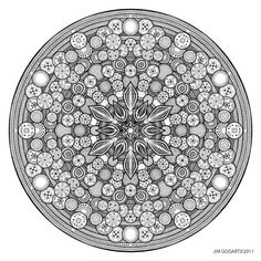 Mandala drawing 26 by *Mandala-Jim on deviantART