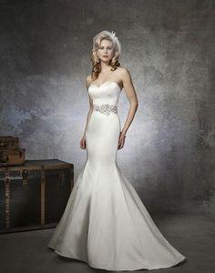 Justin Alexander '8659' size 8 new wedding dress - Nearly Newlywed