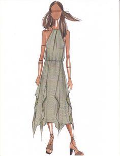 Ramy Brook Spring 2017 Sketch on Elle.com http://www.elle.com/fashion/news/g28712/new-york-fashion-week-designer-sketches/?slide=76