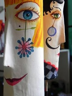 Over the last 20 years, two multi media artists, Juliana Bollini and Laura Balombini, have displayed a natural flair for interpreting a wide range of materials into multi media art. Paper Clay, Paper Mache Clay, Paper Mache Sculpture, Paper Mache Crafts, Sculpture Art, Paper Art, Clay Sculptures, Diy Paper, Paper Dolls