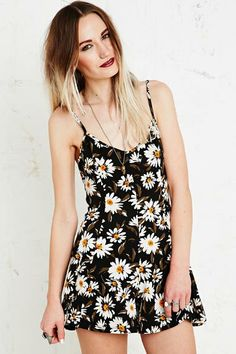 Kimchi Blue Playsuit in Black at Urban Outfitters