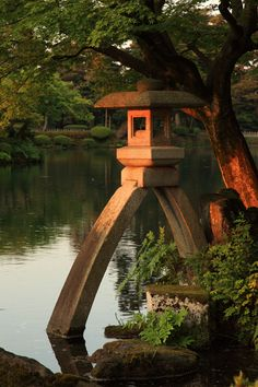 Travel Japan With Baby Places Around The World, Around The Worlds, Beautiful World, Beautiful Places, Statues, Kanazawa Japan, Stone Lantern, Japan Garden, Culture