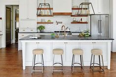 See How One Designer Moved Back Home to Build Her Dream Cottage- Kitchen