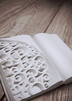 Carved Book by Sebastian Kerner