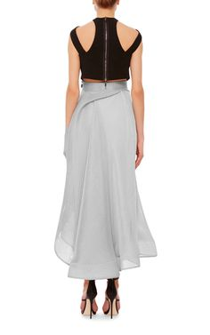 Rogue Full Skirt by MATICEVSKI Now Available on Moda Operandi