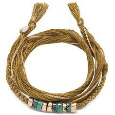Aurelie Bidermann Bracelets Takayama Turquoise Stones and Olivine... ($91) ❤ liked on Polyvore featuring jewelry, bracelets, turquoise stone bracelet, 18k bangle, stackable bangles, stackable bracelet ve boho bracelet