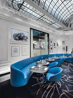 Restaurant Le V, Paris