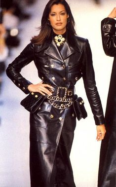 Yasmeen Ghauri from the Chanel Fall Winter 1992 1993 collection - my all time favorite