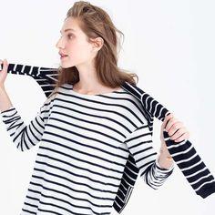 Deck-striped tee $50 #StripesInVienna