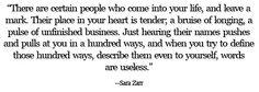 sara zarr quotes - Google Search