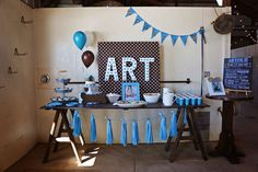 BettsMade 's Birthday / Puppy Party - Photo Gallery at Catch My Party Dog First Birthday, Search Party, Puppy Party, Ideas Para Fiestas, Party Photos, First Birthdays, Birthday Parties, Puppies, Baking Ideas
