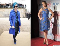 Who Wore It Better? Katy Perry or Jennifer Lawrence.