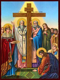 Old Greek, Byzantine Icons, Holy Cross, Art Icon, Orthodox Icons, Christian Art, Jesus Christ, Saints, Princess Zelda