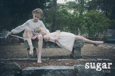 Marta y Evelyna de Sugar Kids para La Petite