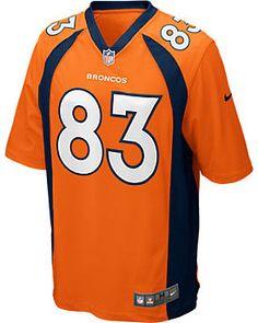56789eeeb NIKE Men s Denver Broncos Wes Welker Game Team Jersey Denver Broncos  Players