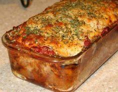 Gluten Free Meatloaf, Meatloaf Recipes, Beef Recipes, Cooking Recipes, Healthy Recipes, Easy Recipes, Hamburger Recipes, Delicious Recipes, Healthy Food