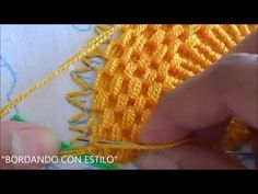 Hand embroidery stitches . Mirror work with romanian couching stitch. Hand embroidery design. - YouTube