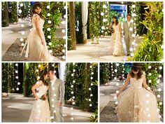 Muita luz para os noivos - Iris Lima e Naun Faul