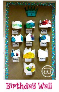 Teaching 2 and 3 Year Olds: Celebrating Preschool Birthdays