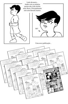 """(TCC) Quadrinhos Nacionais: Uma Perspectiva Estrangeira (UNIVAP), """"preview"""" de Carlos Campos PG11"""