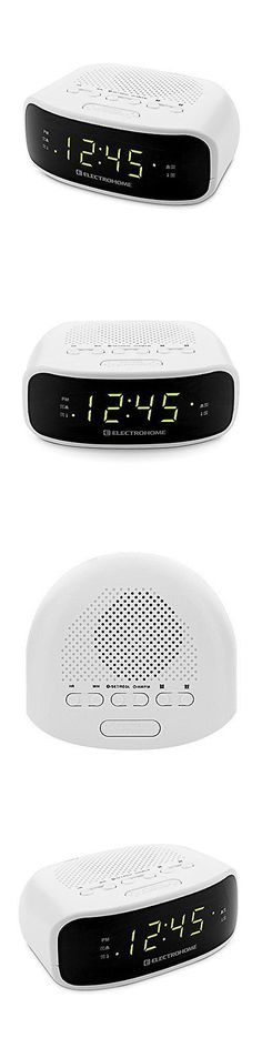 Digital Clocks and Clock Radios: Electrohome Digital Am/Fm Clock Radio With Battery Backup, Dual Alarm, Sleep And BUY IT NOW ONLY: $32.49