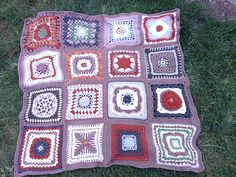 Ravelry: AimeeCrochets' Relay Auction Afghan