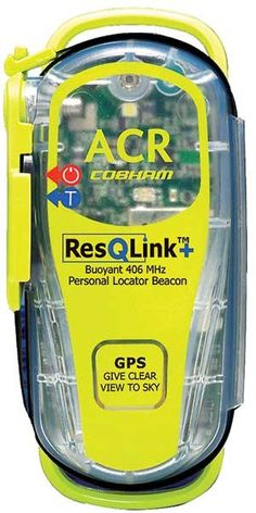 A small Personal Locator Beacon (PLB) with GPS can dramatically reduce rescue times.
