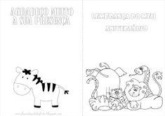 Fazendo a Nossa Festa - Colorir: Safari - Livrinho de Atividades! 1, Diagram, Words, Lion Party, Activity Books, Safari Party, Colouring In, Horse