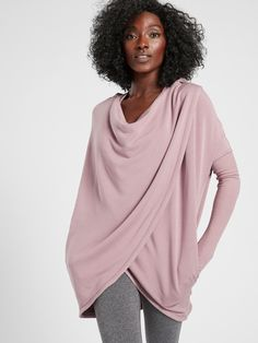 Purana Wrap Sweatshirt | Athleta