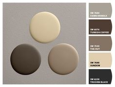 Restoration Hardware to Sherwin Williams paint colors