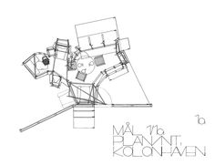 Plan. Small house for a Kolonihaven. EMBT, 1996. Courtesy of EMBT. Click above to see larger image.