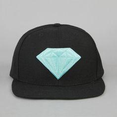 Diamond Cap Black #Tip #TipOrSkip #TopTips #men #men's #fashion #style #diamond #hat #accessories
