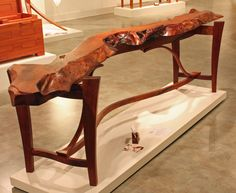 1000 Images About Mesquite Furniture On Pinterest Wall Street Journal Live Edge Table And