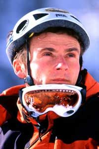 """Jean-Christophe Lafaille, French mountaineer noted for a number of difficult ascents in the Alps and Himalaya and for  """"perhaps the finest self-rescue ever performed in the Himalaya"""", when he was forced to descend the mile-high south face of Annapurna alone with a broken arm, after his climbing partner had been killed in a fall."""
