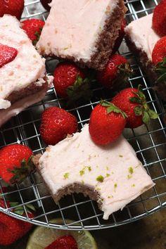 Strawberry Margarita Sheet Cake   Baker by NatureBaker by Nature