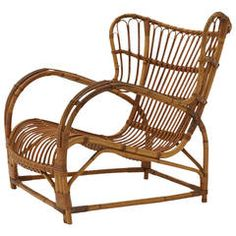 Bamboo Lounge Chair by Viggo Boesen