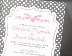 Retro Wedding Invitations  Invites  Printable by InvitationSnob