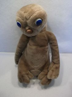 "VTG ET EXTRA TERRESTRIAL 17"" plush toy doll by KAMAR USED #Kamar"