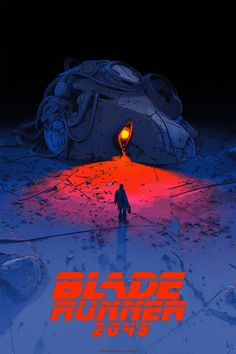 Blade Runner 2049 Mondo Poster by Pascal Blanché Blade Runner Poster, Blade Runner Art, Blade Runner 2049, Blade Runner Wallpaper, Art Disney, Disney Kunst, Movie Poster Art, Poster S, Art And Illustration