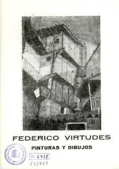Pinturas y dibujos de Federico Virtudes Casa de Cultura de Cuenca Octubre 1971