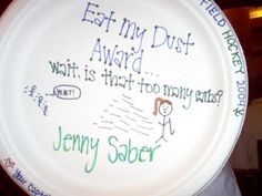 29 Best Field hockey banquet images in 2019   Paper plate