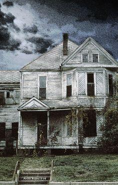 Abandoned house in Louisiana by Anita Burns1