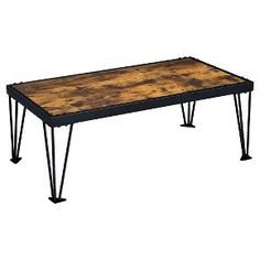 I like this finish on previously pinned table.  Maybe I could make one similar.  Coffee Table Galaxy Black - Furniture of America