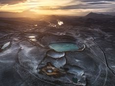 Craters by Oliviersymon Another Earth, Photos Of The Week, Travel Photographer, Belgium, Landscape Photography, Mountains, Nature, Landscapes, Places