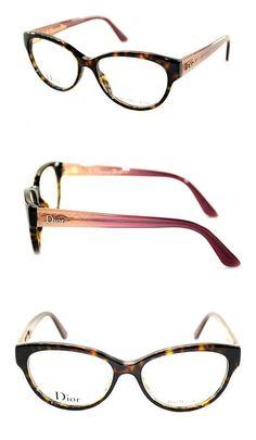 2f84807158a2b Amazon.com  DIOR Eyeglasses Dior 3240 0M92 Havana Nude 52MM  Clothing