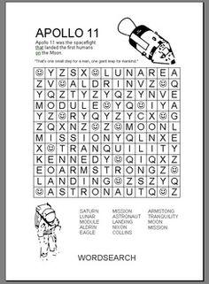 APOLLO 11 Wordsearch Social Studies Lesson Plans, Teacher Lesson Plans, List Of Resources, Teacher Resources, Solar System Worksheets, Cub Scout Crafts, Apollo 11 Mission, Teacher Helper, Fall Cleaning