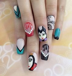 Halloween nail art-59 - 65 Halloween Nail Art Ideas  <3 <3