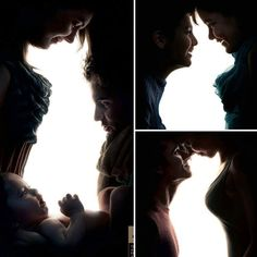 Animal silhouettes in negative space between people. Part of a campaign to promote pet adoption, source unknown